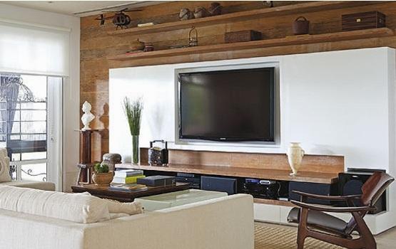Imagens De Sala De Tv ~ Pin Da Sala De Tv Ideias Fotos 10 Decoração Da Sala De Tv Ideias