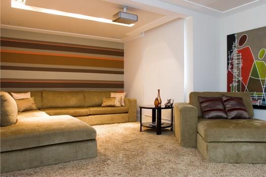 Ideias Para Sala De Tv ~ sala de TV ideias fotos 6 150×150 Decoração da sala de TV ideias