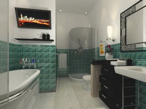 387310 Revestimento para banheiro 2 Revestimento para banheiro: pastilha, azulejo, qual escolher
