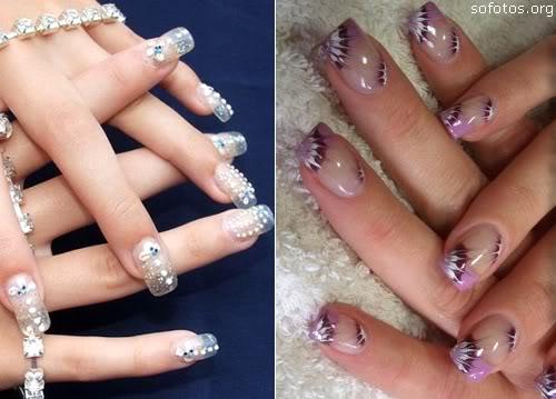 388519 unhas transparentes para mulheres de estilo Unhas transparentes: como fazer