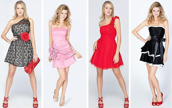 388866 vestidos de festa curtos Vestidos curtos – tendências, fotos