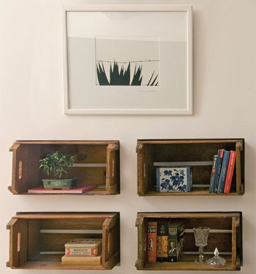 389086 casa claudia fevereiro coixotes parede 01 Decoração com caixote de madeira: dicas