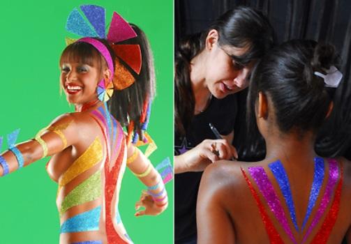 389392 Carnaval 2012 Tipos de pinturas para o corpo 1 Carnaval 2012: Tipos de pinturas para o corpo