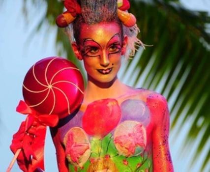 389392 Carnaval 2012 Tipos de pinturas para o corpo Carnaval 2012: Tipos de pinturas para o corpo