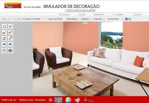 Simulador de decora o de ambientes gr tis - Pinturas bruguer simulador de ambientes ...