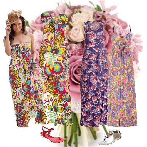 389961 1 Vestidos longos   Verão 2012