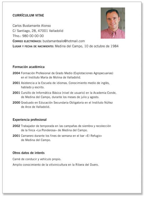 Isimsiz Modelos De Curriculum Vitae