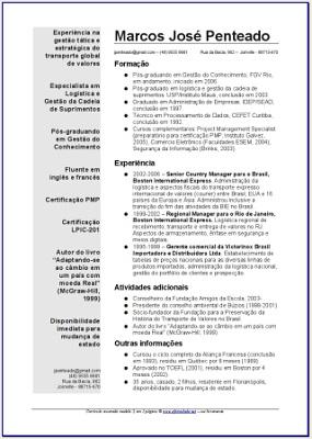 39024 Modelos de Curriculum Prontos 04 Modelos de Curriculum Prontos