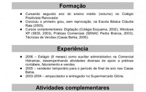 Modelos de Curriculum Prontos