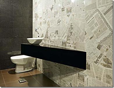 391262 jornal parede Decoração de parede com jornais – dicas, fotos