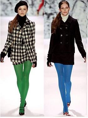 391785 meias coloridas2 Meias coloridas femininas: modelos