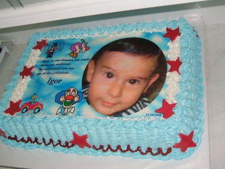 392129 bolo aniversario infantil com foto da crianca dicas 1 Bolo de aniversário infantil com a foto da criança   Dicas