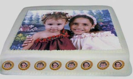 392129 bolo aniversario infantil com foto da crianca dicas Bolo de aniversário infantil com a foto da criança   Dicas