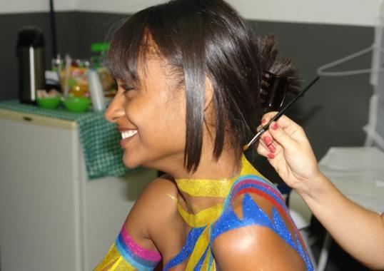 Carnaval 2015: Como pintar o corpo
