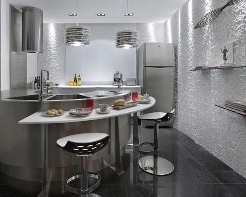 393074 eyless door locks Bancada da cozinha: como decorar