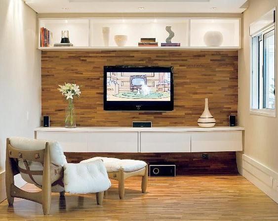 393090 03 Decoração de paredes com madeira   dicas e fotos