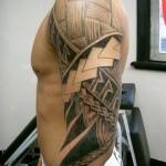 393761 Arm Maori tattoo 150x150 Tatuagens para fechar o braço: fotos