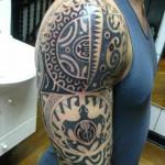 393761 maori arm tattoos 150x150 Tatuagens para fechar o braço: fotos