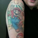 393761 mariotat 150x150 Tatuagens para fechar o braço: fotos