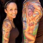 393761 tatuagens femininas no ombro 5 150x150 Tatuagens para fechar o braço: fotos