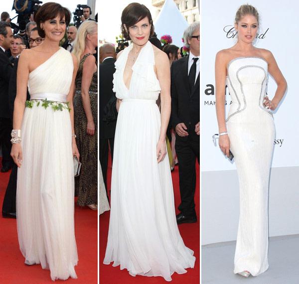 395 vestidos brancos cannes 2012 01 Qual Cor de Roupa Usar na Virada Ano Novo   Noite Réveillon