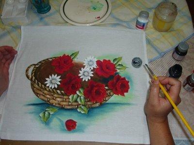 395398 pintura em tecido passo a passo 5 Tecidos para pintar, onde comprar mais barato