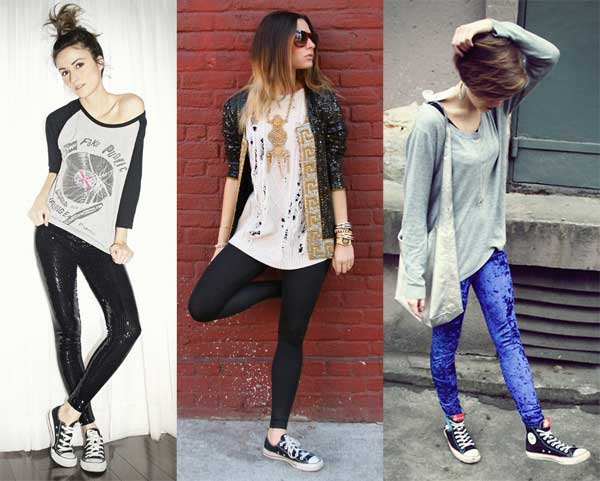 396714 legging Como Usar All Star Converse: Dicas e Looks