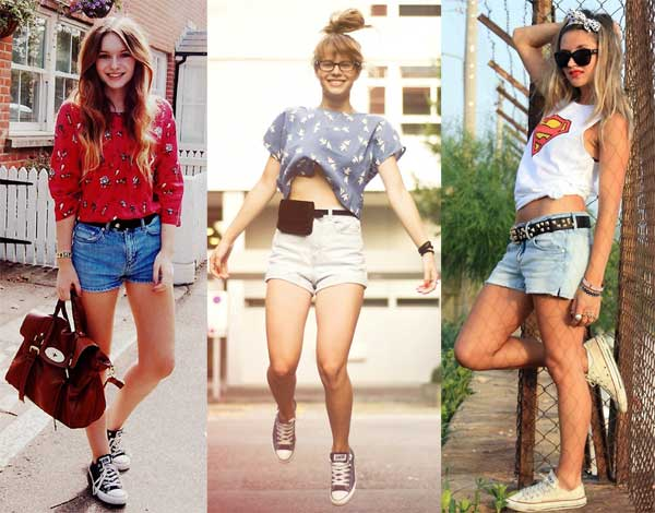 396714 short camiseta Como Usar All Star Converse: Dicas e Looks