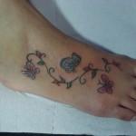 396871 Tatuagens femininas no calcanhar e pé 2 150x150 Modelos de tatuagens no pé   fotos