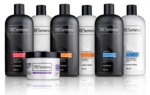Amostras grátis shampoo TRESemmé Brasil