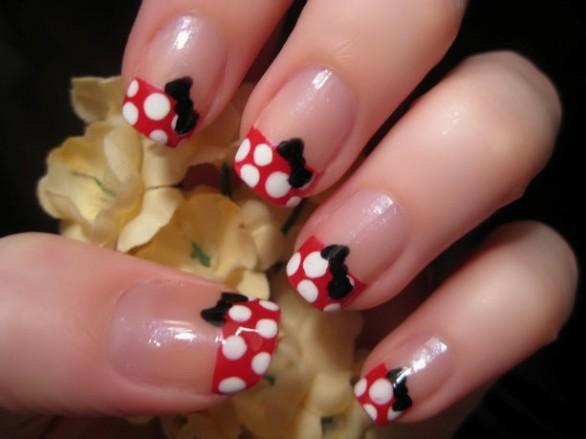 397461 UnhasdecoradasinspiradasnaMinnie Conheça novos jeitos de pintar as unhas
