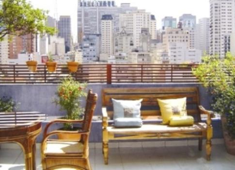 397730 Como decorar varanda de apartamento simples 2 Como decorar a varanda de apartamento simples