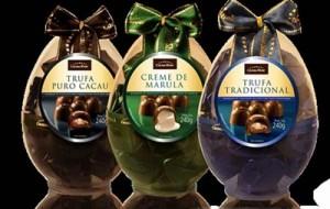 Novidades de ovos de chocolate Páscoa 2012