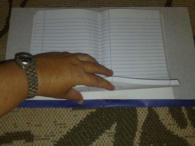 398467 aprenda a encapar cadernos e livros passo a passo 1 Aprenda a encapar cadernos e livros   passo a passo