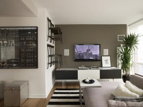 398627 Decoração de apartamento masculino fotos 4 Decoração de apartamento masculino: fotos