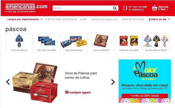 398661 Lojas Americanas ovos de Páscoa em oferta 12 Lojas Americanas: ovos de Páscoa em oferta