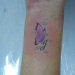 398821 borboleta no pulso 8 150x150 Tatuagens no pulso: fotos