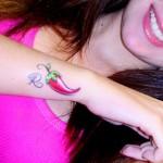 398821 pimenta no pulso 7 150x150 Tatuagens no pulso: fotos