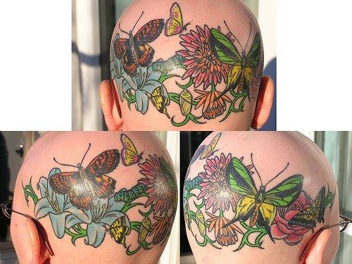 399607 headtat11 Tatuagem na cabeça   Fotos