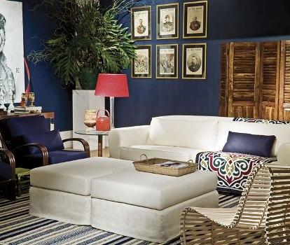 400586 Azul marinho como usar na decoração dicas Azul marinho: como usar na decoração, dicas