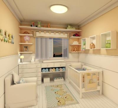 400805 aa Decoração para quarto de bebe simples: fotos
