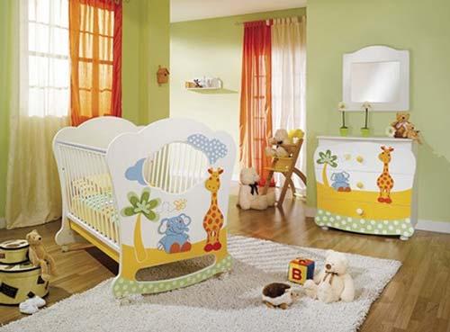 400805 decoracao de quartos de bebes Decoração para quarto de bebe simples: fotos