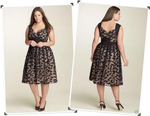 400903 4 Modelos de vestidos plus size modernos