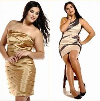 400903 6 Modelos de vestidos plus size modernos