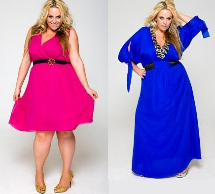 400903 7 Modelos de vestidos plus size modernos
