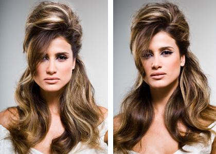 401575 Penteado Cabelos volumosos 1 Penteados para dar volume aos cabelos, dicas