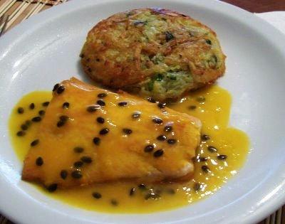 401982 Receita de salmão assado ao molho de maracujá 2 Receita de salmão assado ao molho de maracujá