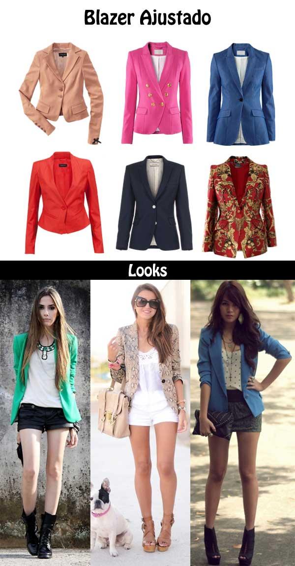 402758 blazer ajustado Silhueta Ampulheta: Dicas e looks para ficar sensual