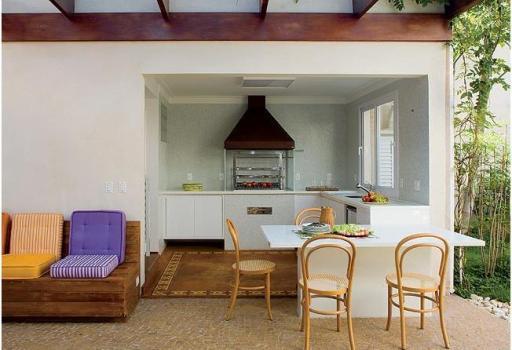 403025 Planta de sobrados com varanda e churrasqueira 3 Planta de sobrados com varanda e churrasqueira