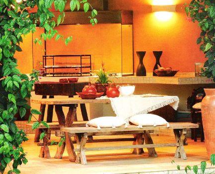 403025 Planta de sobrados com varanda e churrasqueira 4 Planta de sobrados com varanda e churrasqueira